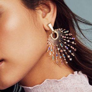 Kendra Scott silver earrings 💖
